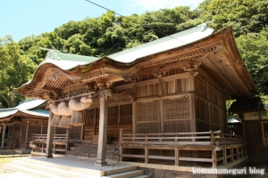 恵曇(えとも)神社(松江市嘉島町恵曇)13