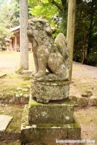 西生馬神社(松江市西生馬町)2