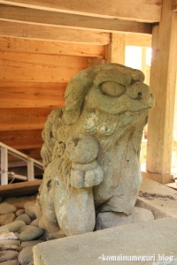 西生馬神社(松江市西生馬町)22