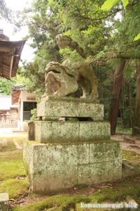 秋鹿(あいか)神社(松江市秋鹿町)5