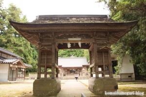 秋鹿(あいか)神社(松江市秋鹿町)15