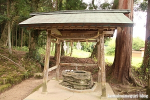 秋鹿(あいか)神社(松江市秋鹿町)3