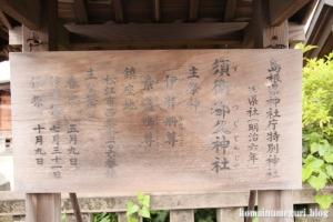 須衛都久(すえつぐ)神社(松江市西茶町)10