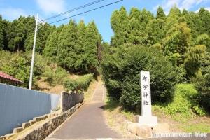 布宇(ふう)神社(松江市玉湯町林)1