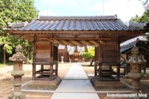 布宇(ふう)神社(松江市玉湯町林)21