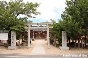 万九千(まんくせん)神社(出雲市斐川町併川)2