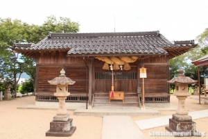 万九千(まんくせん)神社(出雲市斐川町併川)22