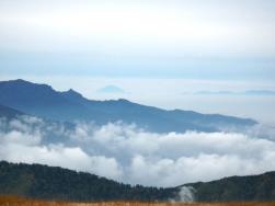 武尊山・富士山・南アルプス