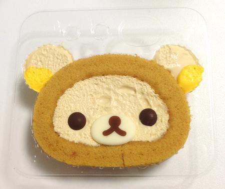 リラックマロールケーキ