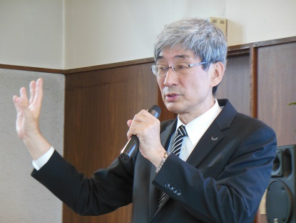 田渕結先生