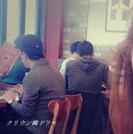 ユノ君と昼食中!新沙洞20151014