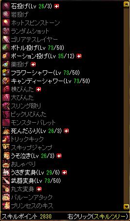 地下姫スキル