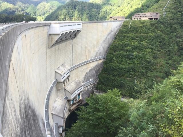温井ダム 2