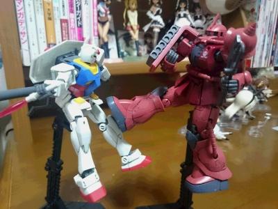 HG シャア専用ザクⅡ(機動戦士ガンダム THE ORIGN) 俺ガンダム版004