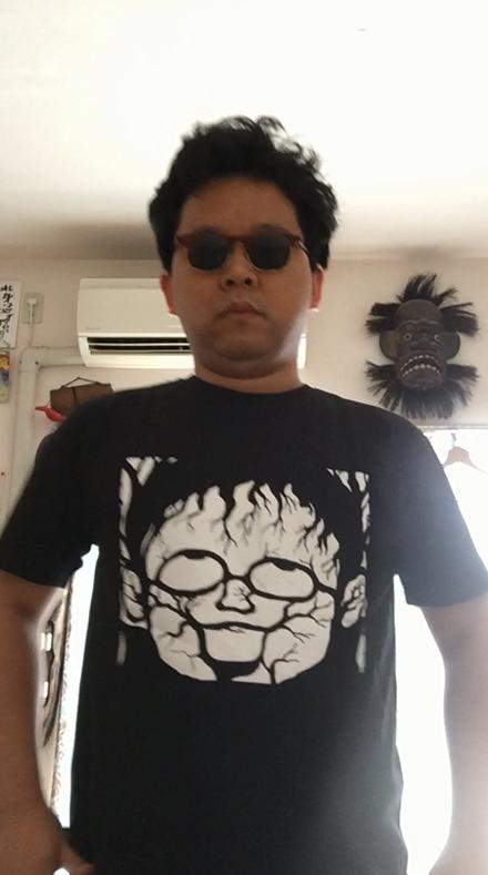 魔太郎Tシャツきてみた