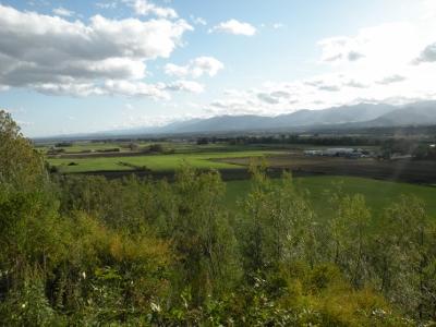 美蔓パノラマパークから見た十勝平野