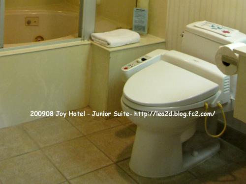 2009年8月 Joy Hotel - Junior Suite ※ウォシュレットあり