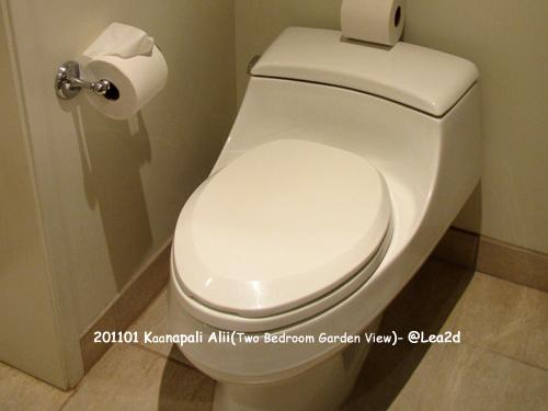 2011年1月 Kaanapali Alii ※ウォシュレットなし