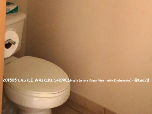 2015年5月 CASTLE WAIKIKI SHORE ※ウォシュレットなし