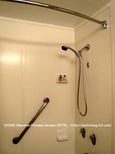 201505 Sheraton Princess Kaiulani(シェラトンプリンスカイウラニ)のバスルーム