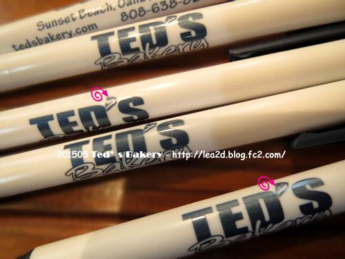 2015年5月 Ted's Bakery(テッズベーカリー)のショップグッズ(雑貨)なボールペン