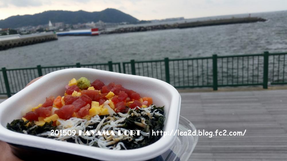 葉山の朝市 HAYAMA MARKET(ハヤママーケット) 葉山港湾食堂 の海鮮丼は「おかあさん」 ¥650