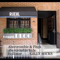 ハワイで買い物 RUEHL No.925(ルール)、Abercrombie & Fitch(アバクロ)、Hollister(ホリ)、abercrombie kids(アバキッズ)、GILLY HICKS(ギリー)