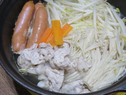 塩ラーメン鍋