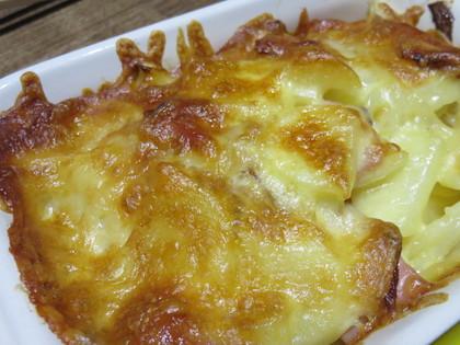 ジャーマンポテトのチーズ焼き