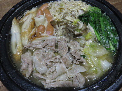 ちゃんぽん鍋