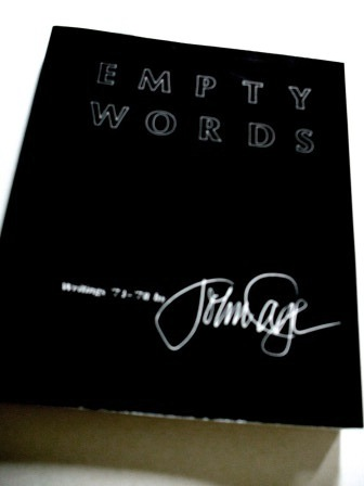 john cage - empty words 1