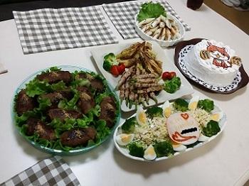 誕生日料理