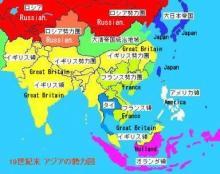 韓国では絶対教えてもらえない1900年当時の東アジア勢力図