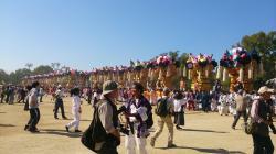 新居浜太鼓祭り 2015 山根グランド統一寄せ