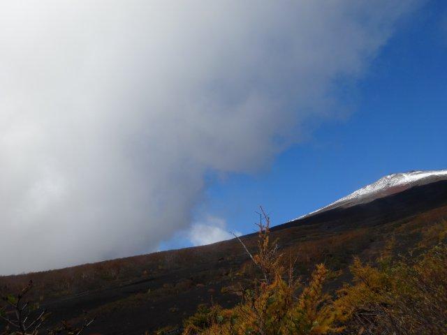 富士山 須走口 犬登山 2015-10-16 079