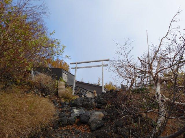 富士山 須走口 犬登山 2015-10-16 083