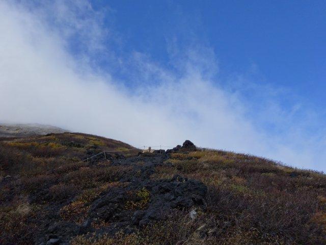 富士山 須走口 犬登山 2015-10-16 156