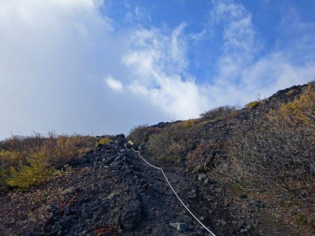 富士山 須走口 犬登山 2015-10-16 162