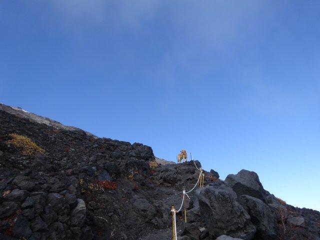 富士山 須走口 犬登山 2015-10-16 204