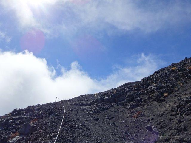 富士山 須走口 犬登山 2015-10-16 214