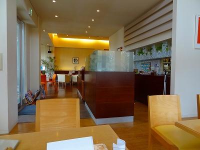 grand cafe Junの店内の様子