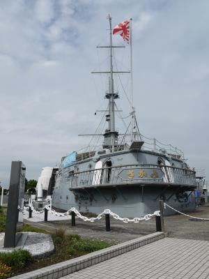 記念艦三笠(船尾)
