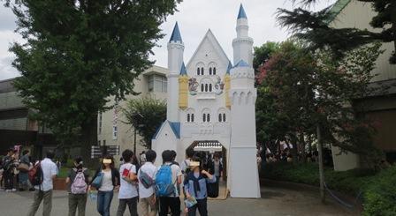 2015浦高祭門正面