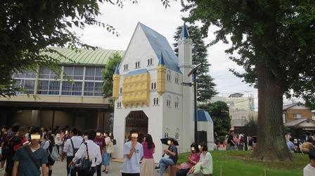2015浦高祭門裏側