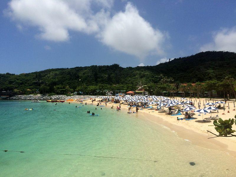 7月だけど、沖縄にいってたんだな~