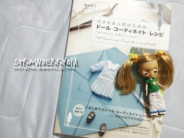 さて今日は、インスタではとっくの昔にあげておりましたが、こっちでもあげておきたくて。同じ画像でスミマセン 『小さなお人形のためのドール・コーディネイト・