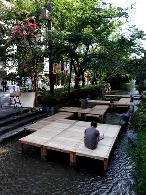 高瀬川涼み台1509