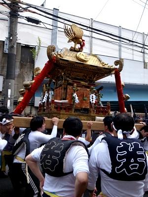 御香宮祭神輿1510