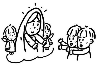 マリアママと子供