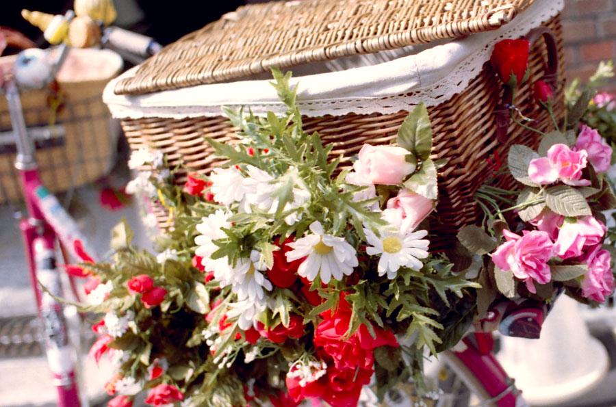 花篭自転車